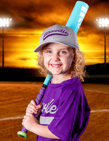 PLOWVILLE TEEBALL PURPLE