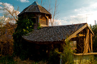 Sagging Roof - Abandoned Renaissance Faire in Virginia